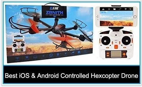 Best iOS and Android Controlled Hexcopter Drone in top 10
