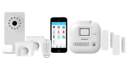 iPhone controlled home automation for home office