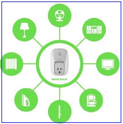 WeMo power control with outlets