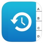 Contact app for iOS device