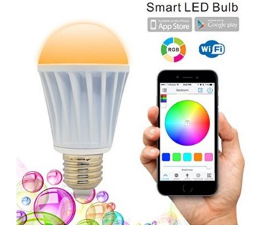 wireless controlled bulb for iPhone