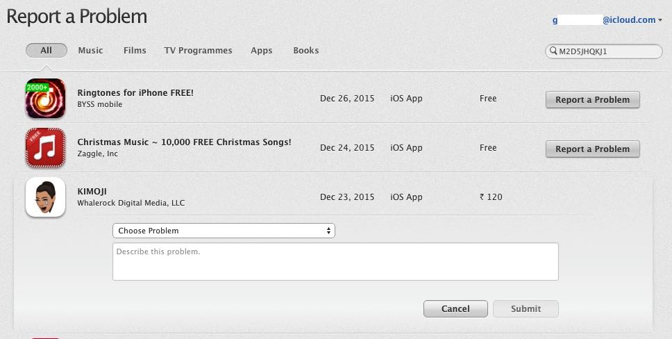How to refund paid iPhone app, iPad app