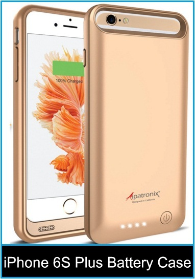iPhone 6S Plus battery case: Get iPhone long time active