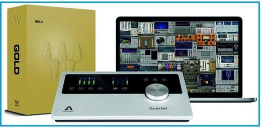 Apogee Quartet Audio Interface for iPad & Mac 2015-2016