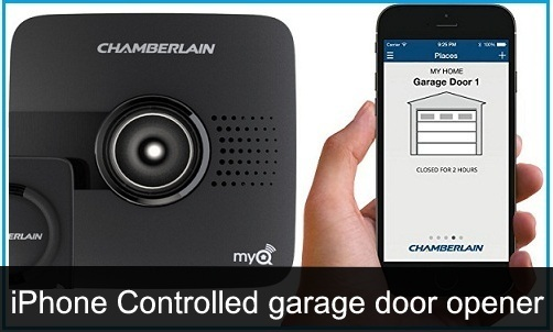 Best iPhone Controlled Garage Door Openers 2018 Open Car Parking