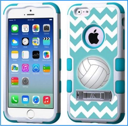 Sports iPhone 6 cases: Volleyball, Football, NFL, Badminton