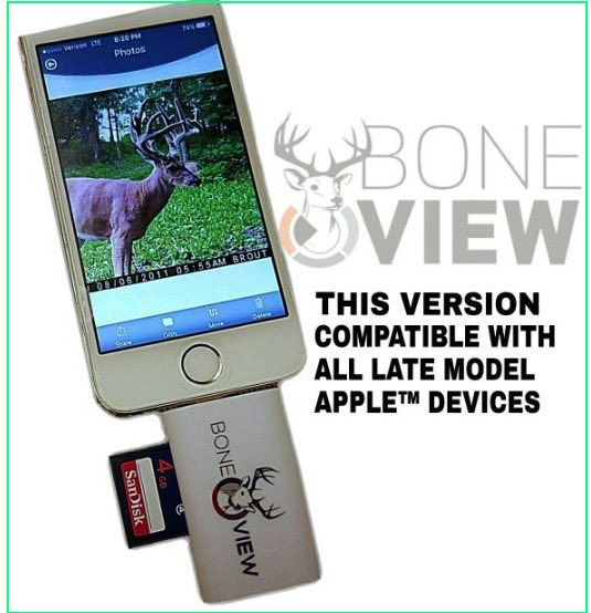 iPhone SD card viewer BoneView reviews
