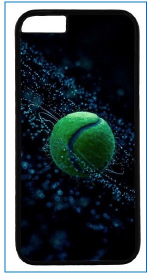 Tennis ball iPhone 6 case in 2016