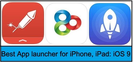 top best App launcher for iPhone 2015-2016