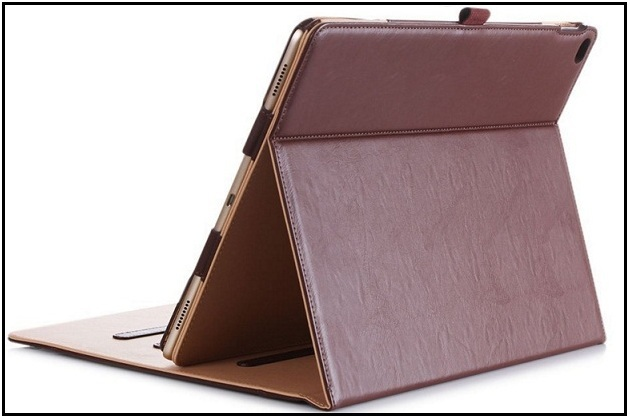 A Professional iPad Pro leather case with pencil holder 2016