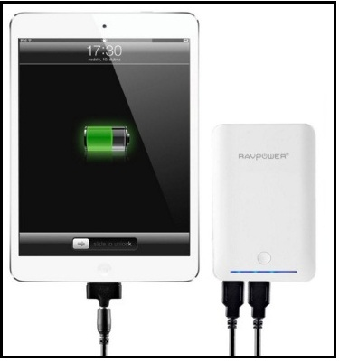 external power bank for iPad Mini 4